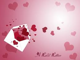 free valentine love letter backgrounds for powerpoint love ppt