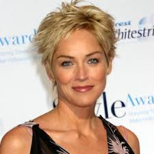 short hairstyles for women over 50 with thick hair shaggy haircut