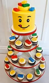 easy lego cake use reece u0027s cups on top of rectangular cake then