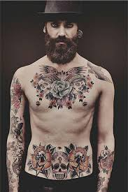 170 best chest tattoos for april 2018