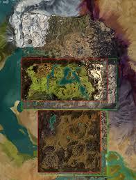 Oasis Map Pof Core Season 3 Map Size Comparison Guildwars2