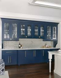 navy blue kitchen cabinets with brass hardware custom home bar designs beck allen cabinetry