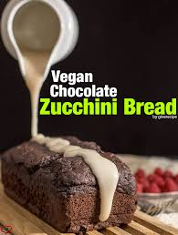 vegan chocolate zucchini bread give recipe