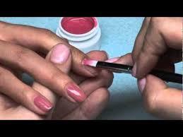 star nail soak off gel application youtube