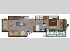 montana 3950br mid bunk floor plan office u0026 bunk 41 u0027 no os