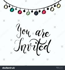 You Are Invited Card You Invited Party Invitation Card Vector Stock Vector 451315486