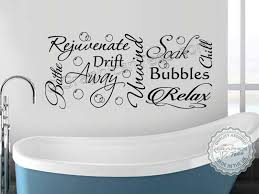 Wall Transfers For Bathroom Life Is Like A Bath More Wrinkled You Get Bathroom Wall Sticker