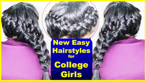 hairstyles for medium and long hair for college girls madras