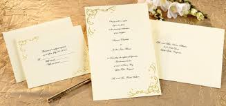 blank wedding invitation kits scrollwork wedding invitation kit gold wilton