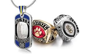 high school class necklaces chionship rings jostens professional college high school