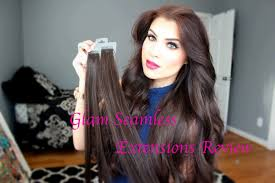 Skin Weft Seamless Hair Extensions by Seamless Tape In Hair Extensions Reviews Om Hair