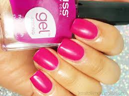 kiss gel strong nail polish u0027hot mama u0027 less talk more polish