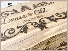 rustic wedding guestbook tree slice guestbook shabby chic