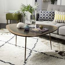 Metallic Coffee Table by Fox3215a Coffee Tables Furniture By Safavieh