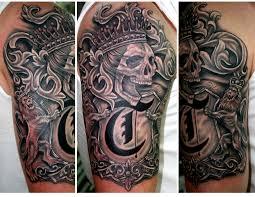 awesome sleeve tattoo love the filigree placasos pinterest filigree family crest