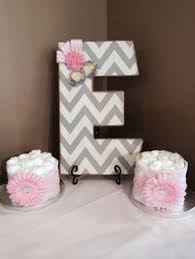 imposing ideas pink and grey chevron baby shower decorations