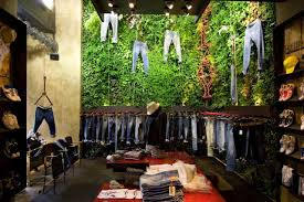 elegant nice modern interior design for clothing boutique interior