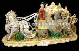 carriage centerpiece ornate cinderella pumpkin cart european style