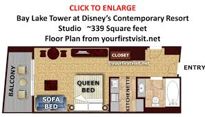 Photography Studio Floor Plans by Review Bay Lake Tower At Disney U0027s Contemporary Resort Continued