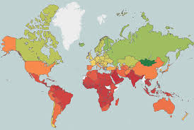 What Is A Climate Map Hotter Days Will Drive Global Inequality Mit Technology Review
