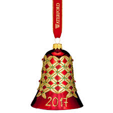 waterford nostalgic alana bell ornament nostalgic bell 2017