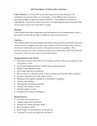 Cover Letter For Sales Associate Position Extraordinary Duties Of A Sales Associate For Resume 48 On