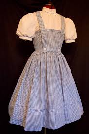 Womens Dorothy Halloween Costume Size Authentic Reproduction Dorothy Costume Dress