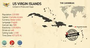 St Thomas Virgin Islands Map Us Virgin Islands Marquestra Inc