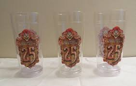 what are the hours for universal halloween horror nights halloween horror nights 25 universal light up cup glass set hhn ebay