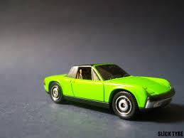 porsche matchbox slick tyre diecast car collection matchbox vw porsche 914 6 green