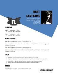 Free Resume Template Doc Design Resume Template Doc Format 883 U2013 889 U2013 Free Cv Template