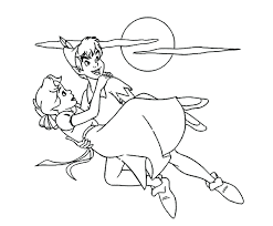 awesome peter pan mermaids coloring pages pictures podhelp