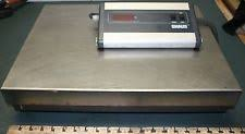 Ohaus Bench Scale Ohaus Ds10l 100lb Digital Bench Scale Ebay