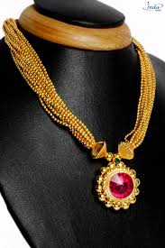 neck necklace gold images 22k gold plated 14no pendant 10 line main neck inishk jewellery jpg