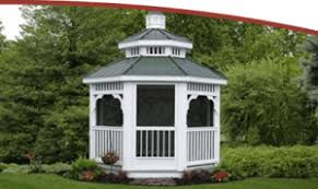 Backyard Gazebos For Sale by Outdoor Storage Buildings For Sale Overholt U0026 Sons Inc In Kentucky