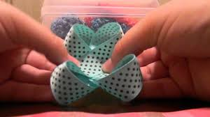 how to make a hair bow easy how to make an easy hair bow