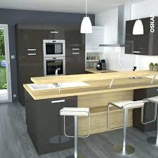 cuisine americaine avec bar meuble cuisine bar racalisation cuisine ouverte avec bar verre