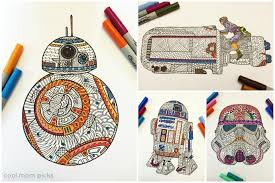 coolest star wars force awaken coloring pages
