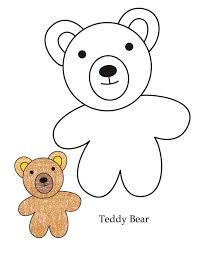 teddy bear coloring pages ppinews co