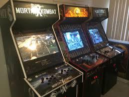 mortal kombat x joins superfan u0027s collection of custom made arcade