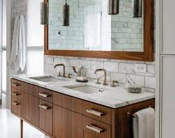 Floor Standing Mirrored Bathroom Cabinet Small Bathroom Cabinet Oval Free Standing Soaking Tub Grey Stained