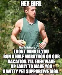 Meme Running Girl - 12 ryan gosling hey girl running memes that will make you say yes