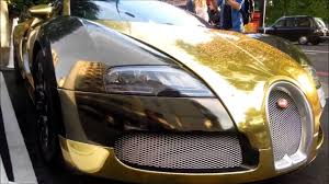 gold bugatti chrome gold bugatti veyron grand sport from saudi arabia youtube