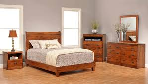 Bedroom Furniture Images by Amish Bedroom Furniture Furnished Wooden Bed Bed And Cabinets