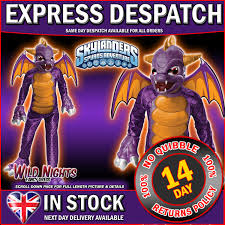 Spyro Halloween Costume Skylanders Giants Costume Deluxe Spyro Medium Age 5 6
