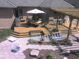 lawn u0026 garden creative backyard deck design with pallet wooden