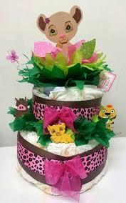 Lion King Baby Shower Cake Ideas - adriana u0027s creations custom diaper cakes