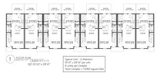Multi Family Apartment Floor Plans Multi Family Floor Plans Social Timeline Co