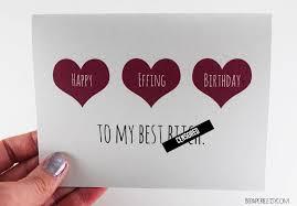 friend birthday card best friend birthday birthday