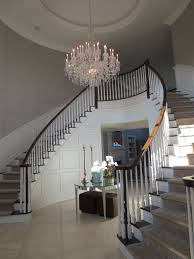 traditional foyer chandelier suited for ceiling design in mansion